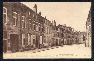 Vintage Bar Le Duc France Carte Postale Postcard