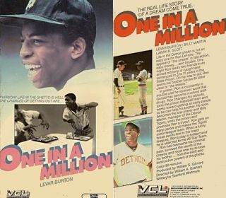One In a Million The Ron Leflore Story DVD Detroit Tigers Baseball