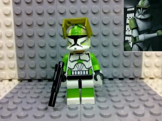 Lego Star Wars Clone Trooper Clone Captain Lock Custom