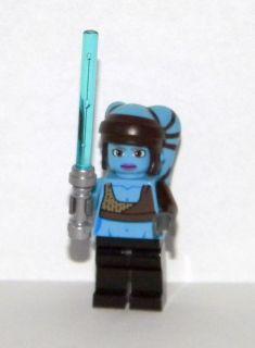 Star Wars Lego Aayla Secura Figure Loose from 8089