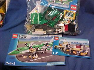 2008 Lego City Series Set 7734 Cargo Airplane 673419102421