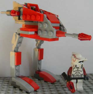 LEGO STAR WARS CLONE WARS NEW 9488 ARF CLONE TROOPER CUSTOM 8014 AT RT
