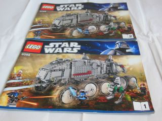 Lego Star Wars Clone Turbo Tank 8098 Instruction Manual Only