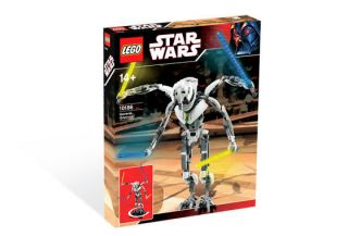 Lego Star Wars Set 10186 General Grievous New SEALED