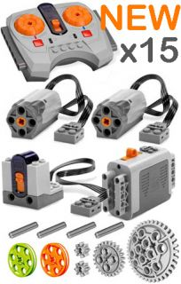 Lego Power Functions SET 1 S Technic Motor Receiver Remote Control