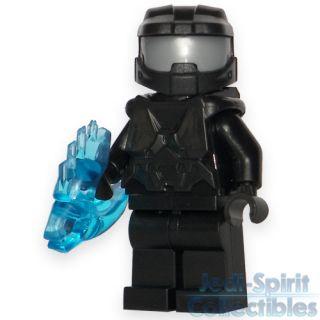 Lego Halo Custom Master Chief Black Color Minifig Free USA Shipping