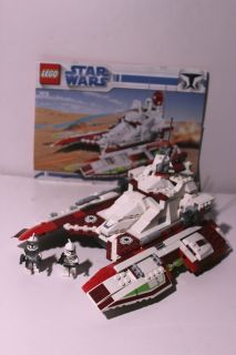 Lego Star Wars Set 7679, Republic Fighter Tank 100% Complete with