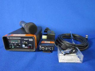Lectrosonics VHF Wireless Microphone Kit FV 4 Used
