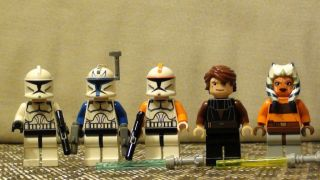 Lego Star Wars Clone Troopers Pack