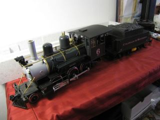 LEHMANN LGB G SCALE 2019s LOCOMOTIVE ENGINE TRAIN COLORADO SOUTHERN