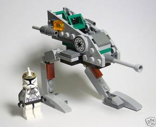 Lego Star Wars Walker Clone Gunner from 8014 Mint