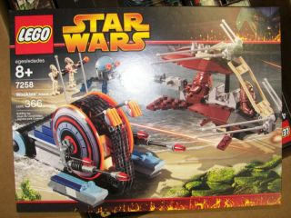Star Wars Lego SEALED Set 7258 Wookiee Attack 366 Pcs