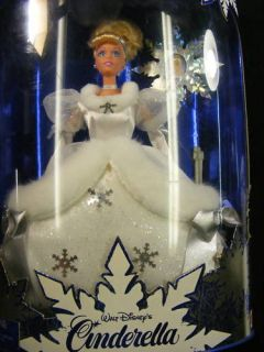 Holiday Princess Cinderella Barbie Doll 1996