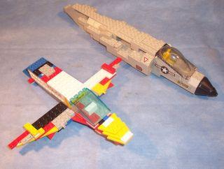 Lego Legoland Police Mega Bloks Brick Blocks Probuilder 9709 Airplane