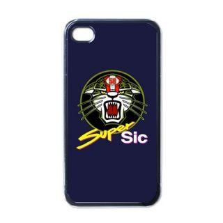 Super SIC Marco SIMONCELLI MotoGP 58 iPhone 4 4S Hard Plastic Cover