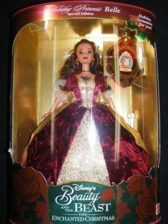 Holiday Princess Belle Barbie Doll Special Edition 1997