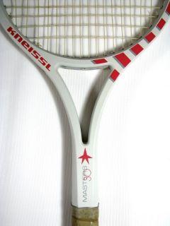 KNEISSL WHITE STAR MASTERS 30 Tennis RACKET graphite 80s Lendl rare