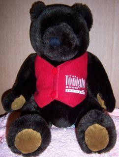 The Tonight Show TV Jay Leno Souvenir Plush BEAR Doll Toy Stuffed