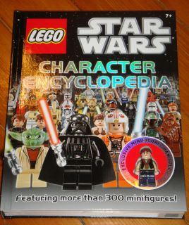 New Lego Star Wars Character Encyclopedia Book Exclusive Han Solo Mini