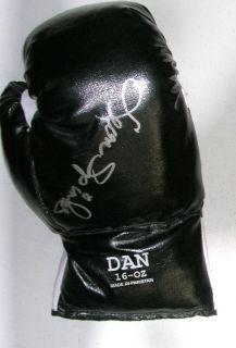 Leon Spinks Signed Autographed Auto Signature Boxing Glove JSA COA LOA