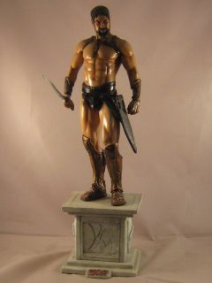 leonidas 300 painted statue 1 6 scale import spartan resin model kit