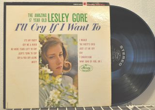 Lesley Gore Ill Cry If I Want to Its My Party Produce Quincy Jones