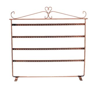 Earrings Holder Rack Jewellery Display Stand 128 Holes on 4 levels