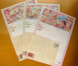 Vintage Cute Korean Letter Set Stationery Kawaii Letter Writing