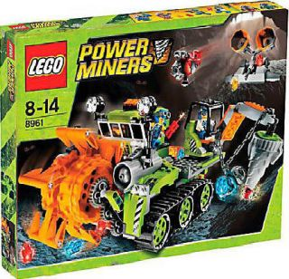 Lego Power Miners 8961 Crystal Sweeper New MISB 673419112819