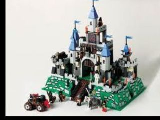 LEGO Knights Kingdom Set 6098 King Leos Castle With minifigures