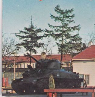 1969 Postcard U s Army Reception Center ft Lewis Wash