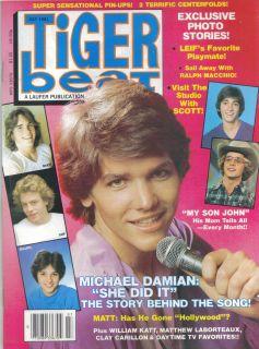 1981 Michael Damion Matt Dillon Leif Garrett Ralph Macchio Mint