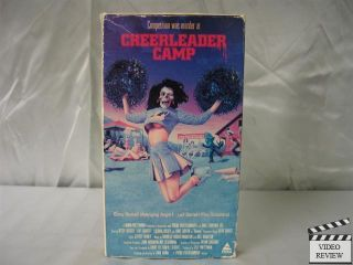 Cheerleader Camp VHS Betsy Russell Leif Garrett 086625535134