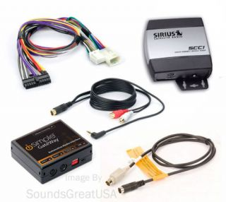 Complete Sirius Satellite Radio Set for Lexus ES 330
