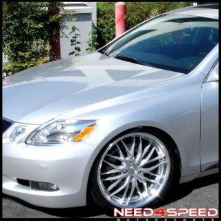 20 Lexus SC SC430 MRR GT1 Staggered Rims Wheels