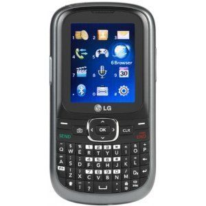TRACFONE LG 501C QWERTY KEYBOARD PREPAID NEW IN PACKAGE TRACFONE GSM