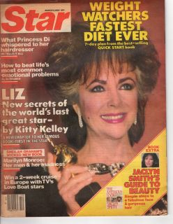 1985 Star March 5 Liberace Jaclyn Smith Angie Dickinson Truman Capote