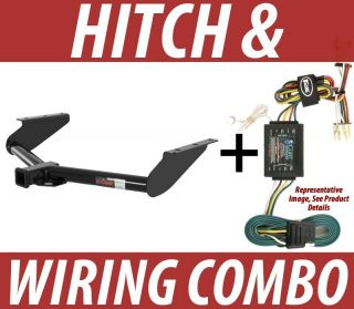 COMBO 2008 Jeep Liberty Curt Trailer Towing Receiver Hitch Wiring