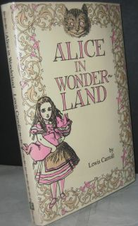 Alice in Wonderland by Lewis Carroll 1985 Hardcover Book Classic Tales