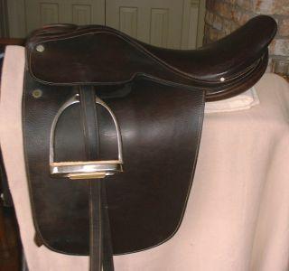 19 LSS (Libertyville Saddle Shop) Cutback Saddle Seat Saddle. Awesome