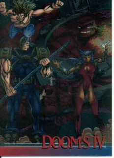 Wizard Series 3 Chrome Promo Card 8 Dooms IV Liefeld