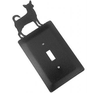 Chihuahua Dog Metal Light Switch Cover