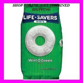 Life Savers Mints Wint O Green Hard Candy Lifesavers