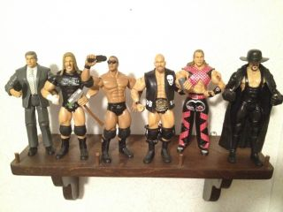 WWE 62 action figure lot Huge complete loose vhtf rare mattel jakks