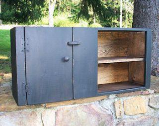 Primitive Handcrafted Wall Cupboard Ligonier