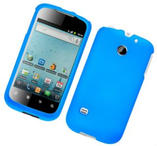 Light Blue T Mobile Huawei Summit U8651S Phone Cover Hard Case Rubber