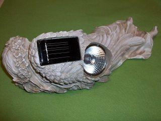 ETERNAL LIGHT SOLAR MEMORIAL ANGEL PERFECT FOR CEMETERY, HOME, GARDEN