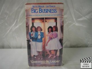 Big Business VHS Bette Midler Lily Tomlin 012257605037