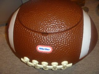 Little Tikes Football Toy Box Toybox Cooler Ice Chest