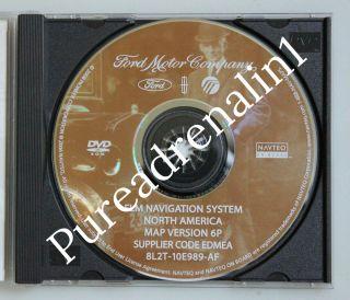 OEM 2007 2008 LINCOLN NAVIGATOR L LIMITED FORD NAVIGATION MAP DISC CD